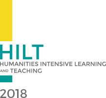 HILT (Humanities Intensive Learning and Teaching) 2018